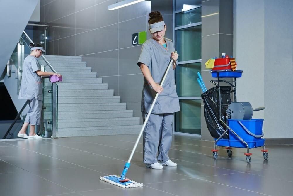 Temps de lavage d'entretien ménager