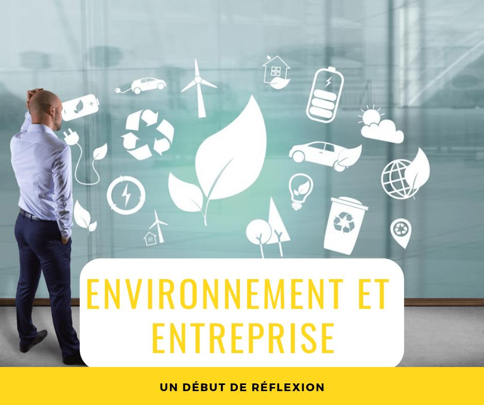 Environnement et entreprise