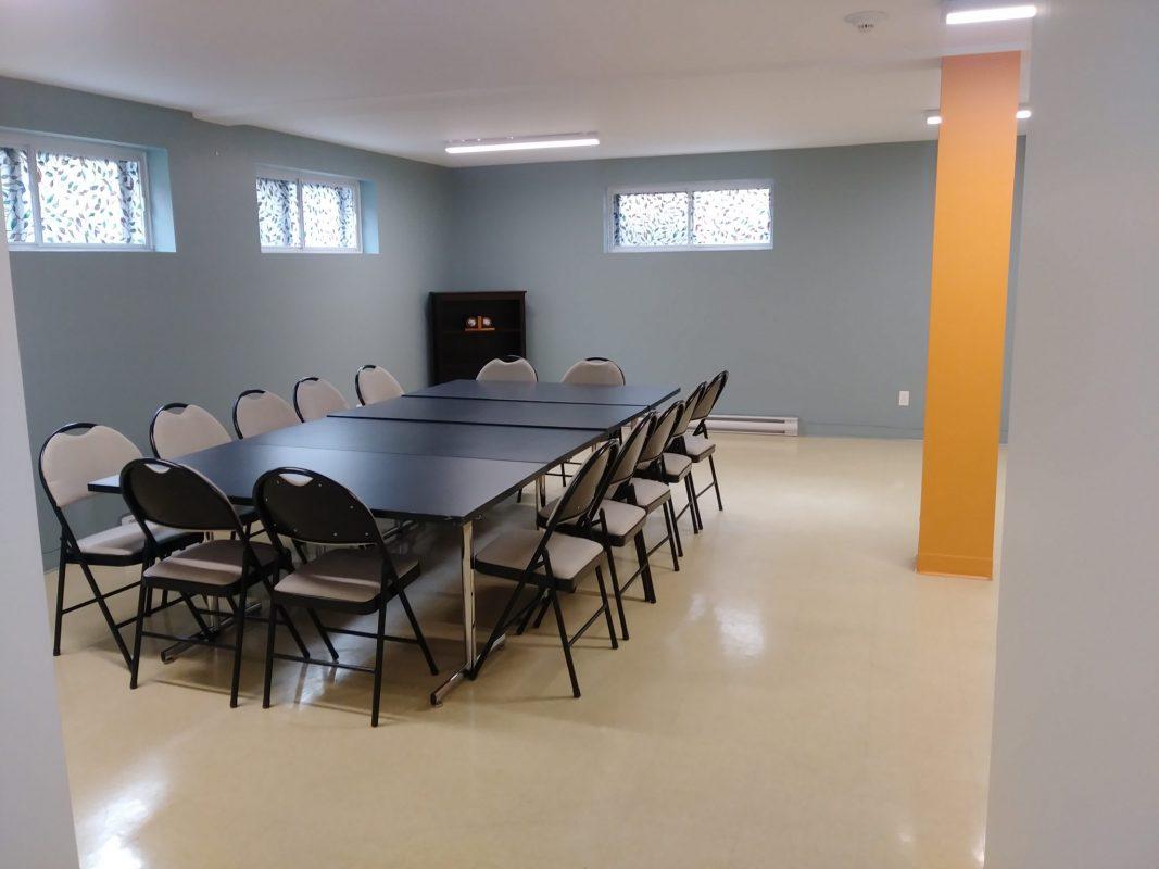 Salle de formation CF Salubrité à Longueuil
