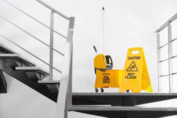 Prévention des accidents en hygiène et salubrité
