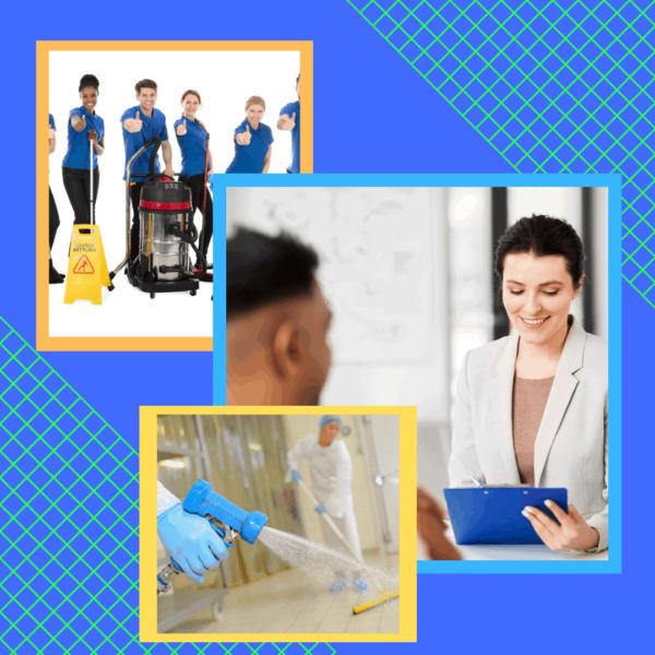 Atelier d'emploi en entretien ménager