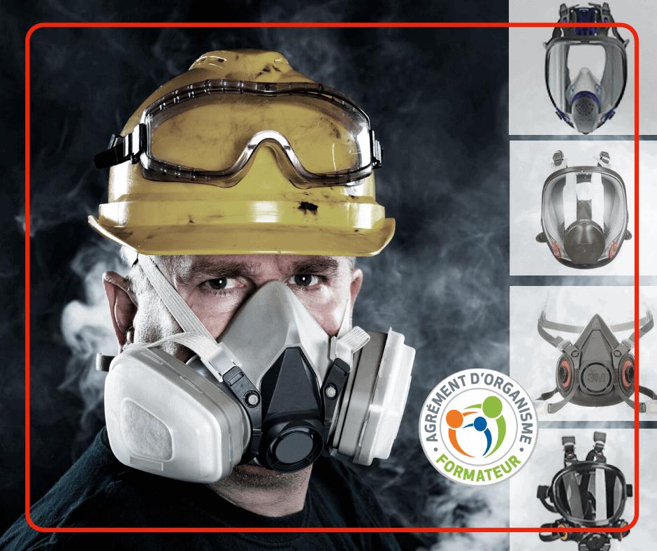 Formation lavage masque respiratoire réutilisable