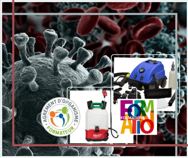 Formation lavage et désinfection en temps de pandémie