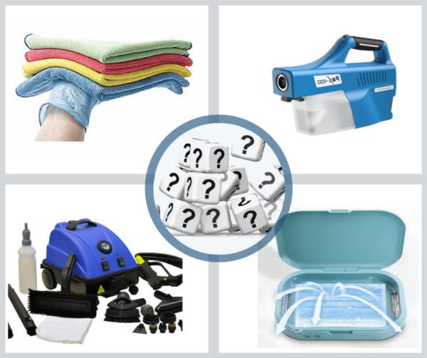 Le meilleur équipement ou accessoire pour désinfecter?
