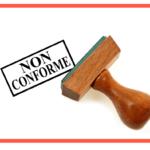 Avis de non conformité