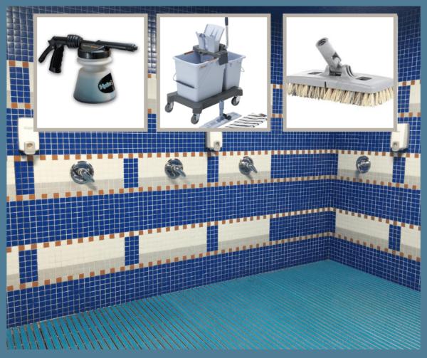 Lavage des salles de douches