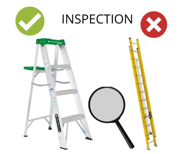 INSPECTION échelle et escabeau