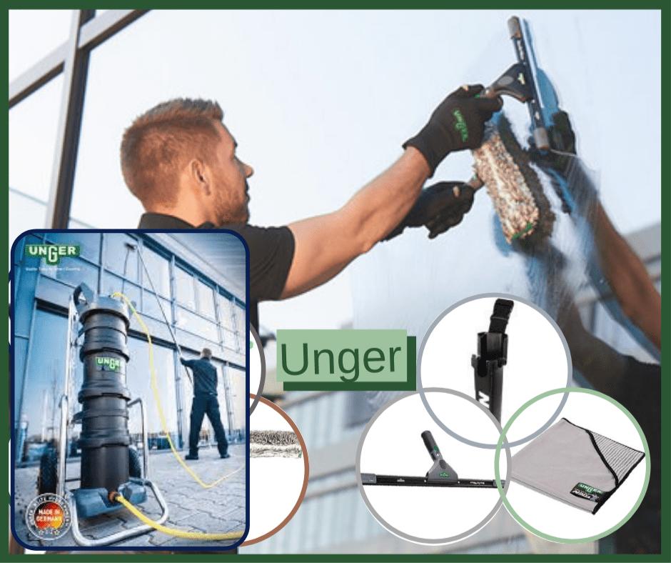 Ergotec Ninja et Hydro Power de Unger