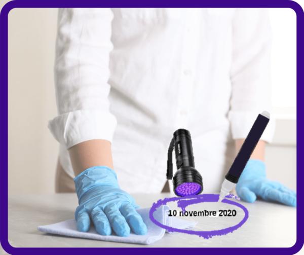 Kit de contrôle de la qualité entretien ménager