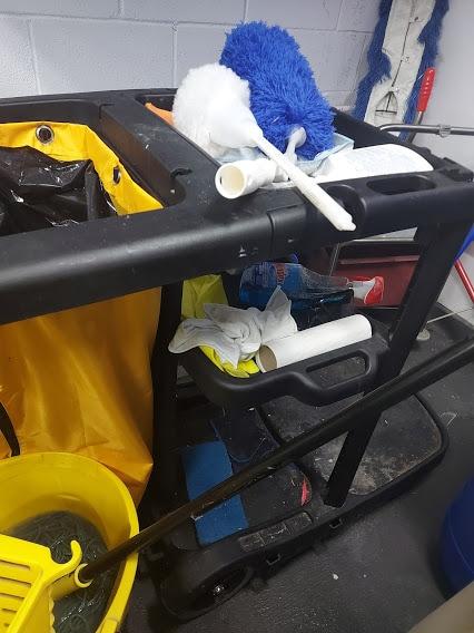 Votre équipement doit être nettoyé à chaque quart de travail.