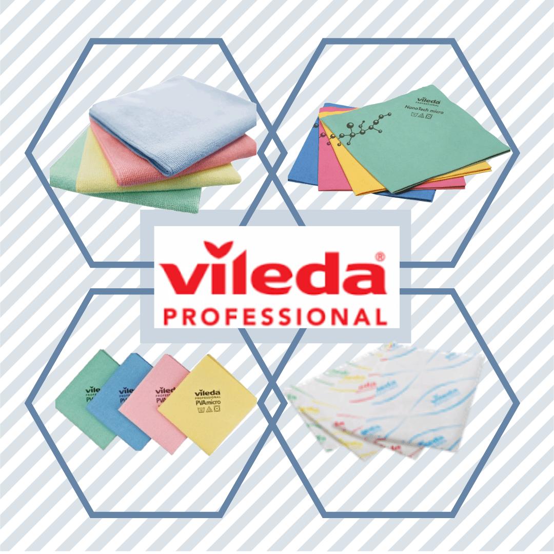Connaissez-vous la différence entre les linges de microfibre de Vileda?