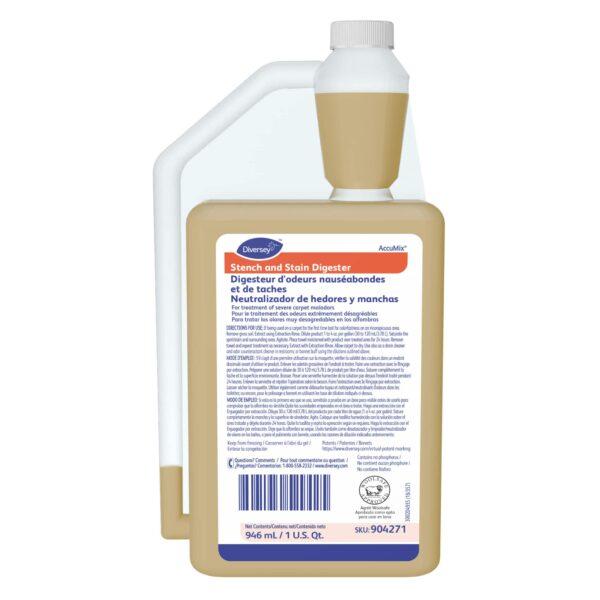 Digesteur d'odeurs nauséabondes et de taches Accumix Diversey