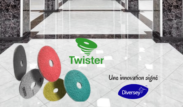 Les tampons twister, une innovation signé Diversey