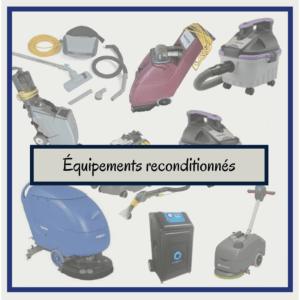 Équipements usagés, reconditionnés