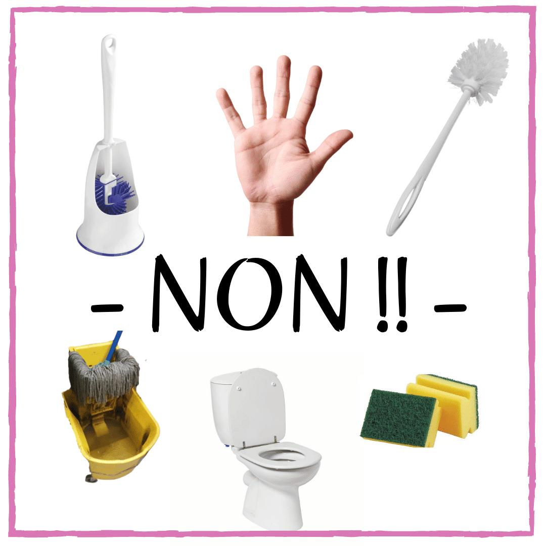 Comment nettoyer les toilettes